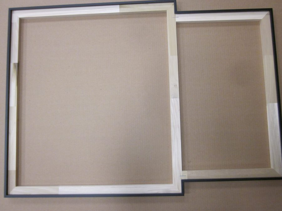 Aluminum Frame with Divider