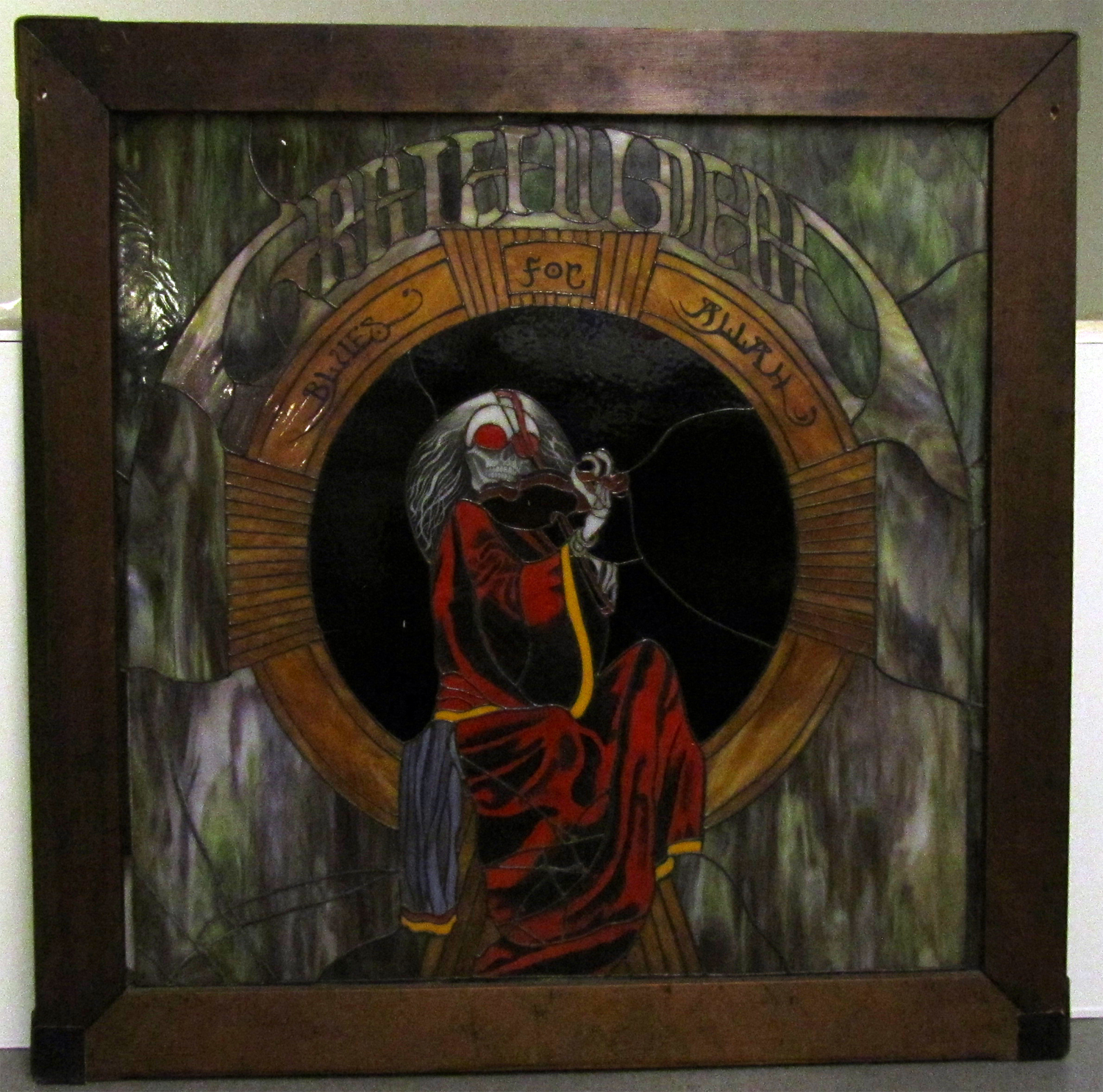 Blues for Allah Stained Glass