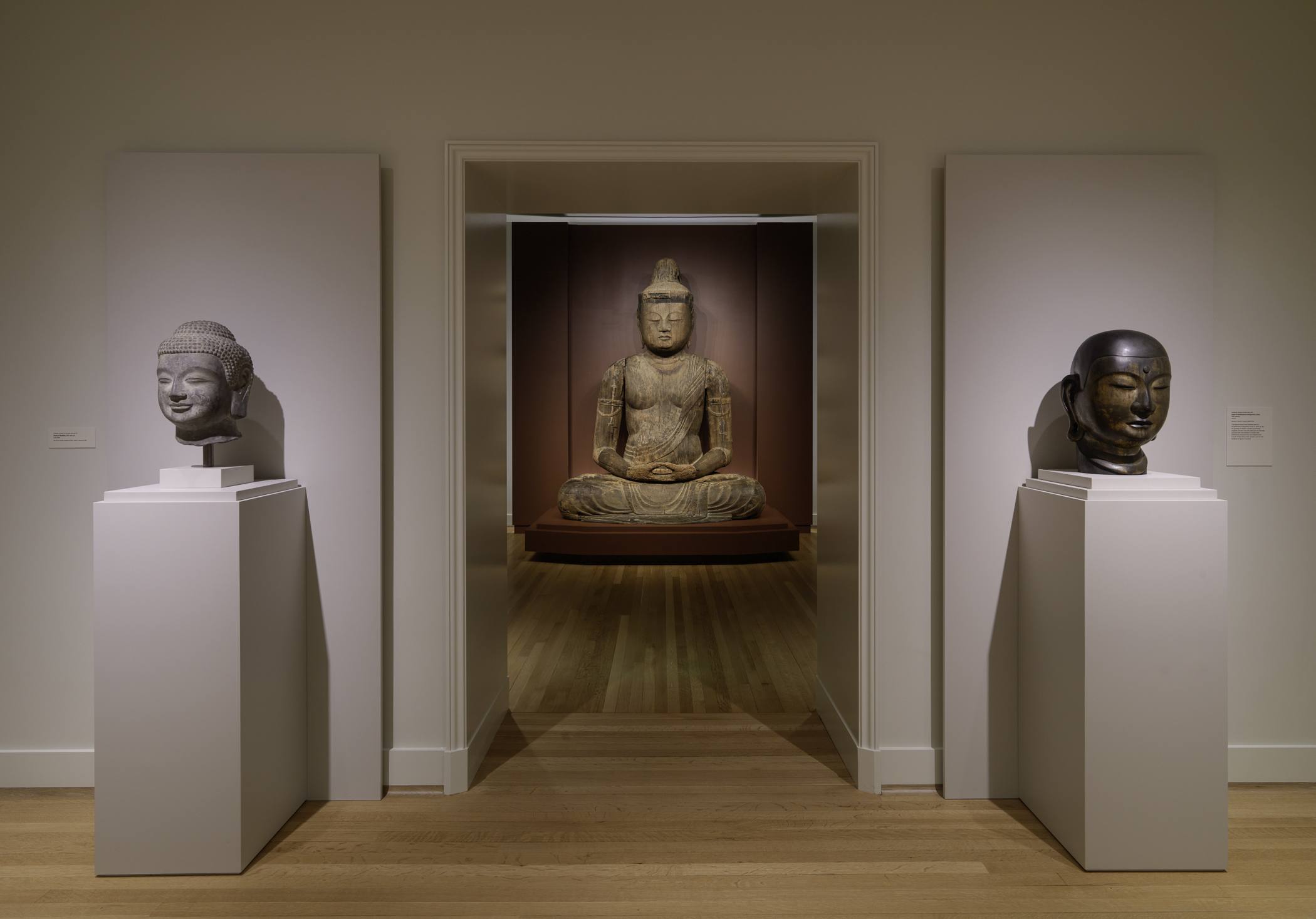 Buddha on 6th Floor at RISD Museum