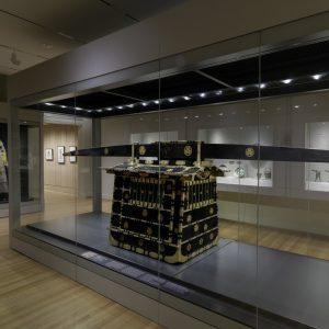 Glass case for Japanese Palanquin - RISD Museum