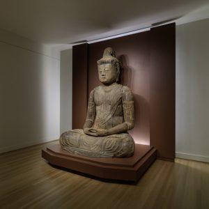 Backlit platform for Dainichi Nyorai Buddha – RISD Museum