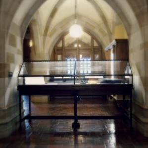 Custom Exhibit Case - Northwestern University's Deering Library – in collaboration with O'Brien Metalworks