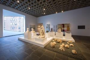 Pedestals and platforms at the Met Breuer