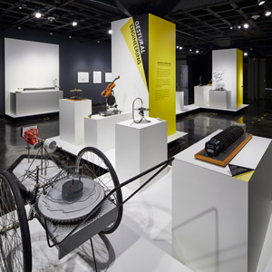Arthur Ganson's kinetic sculptures are among the most beloved features of the MIT Museum. SmallCorp fabricated the exhibit in collaboration with IKD
