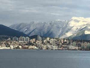 Sun and Snow in Vancouver BC for the ARCS conference